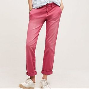 NWT Anthro Pilcro and the letterpress Hyphen Pant